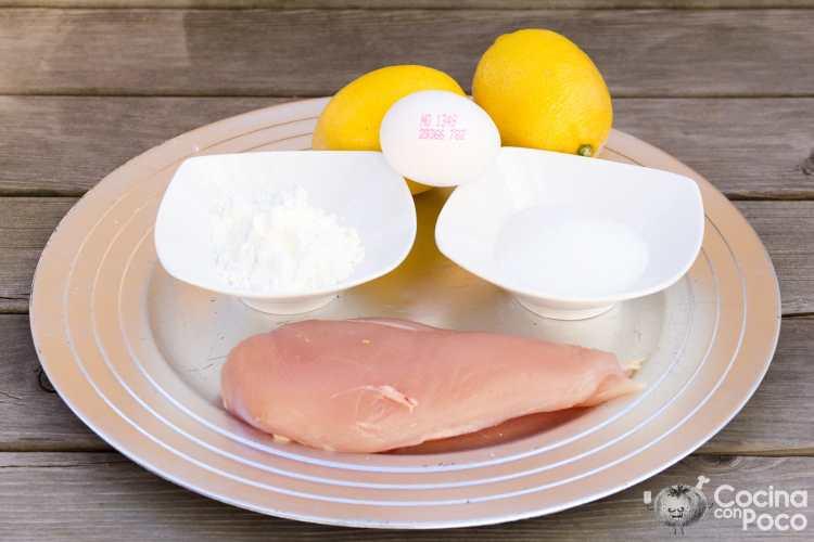 pollo al limón estilo chino receta de cocina paso a paso
