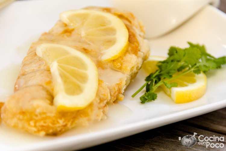 pollo al limon estilo chino receta de cocina paso a paso