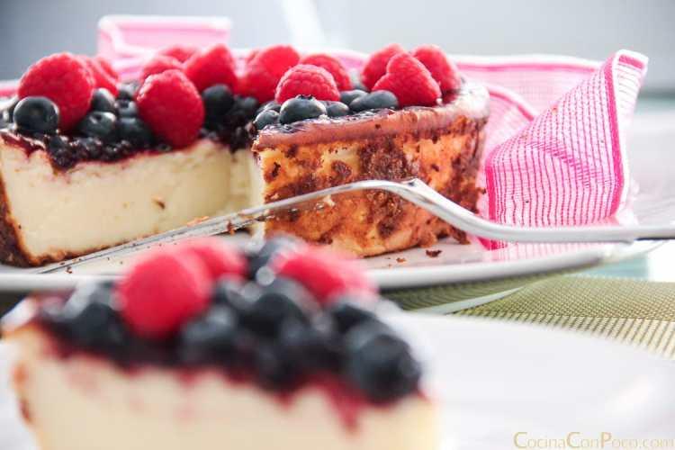 Image Result For Receta Tarta C Frutas Del Bosque