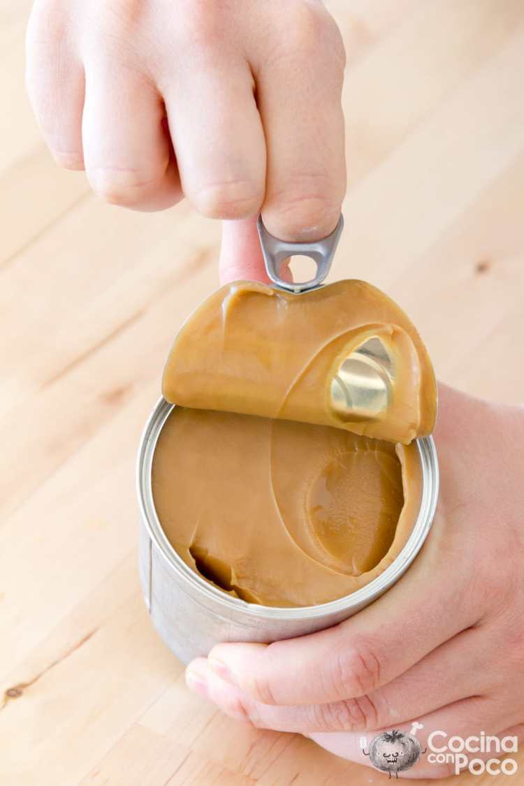 receta de dulce de leche casero con leche condensada paso a paso