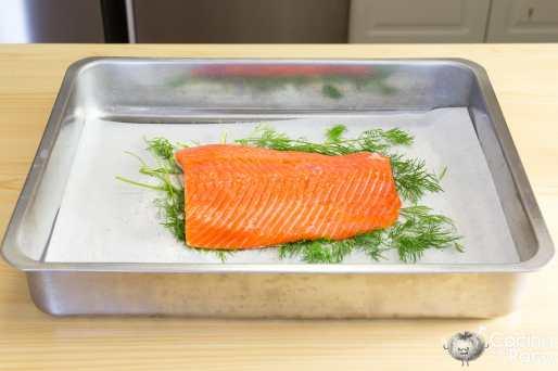 salmón marinado receta fácil noruega