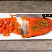 Como hacer salmón marinado en casa - Paso a paso