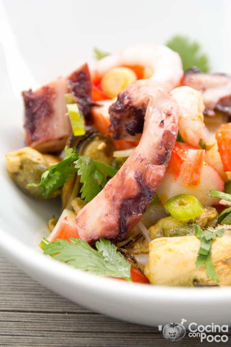 salpicon de marisco receta casera