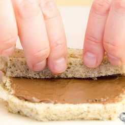 torrijas rellenas de nutella chocolate paso a paso