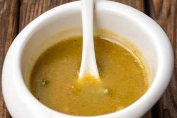 salsa vinagreta para ensaladas y pescados receta paso a paso