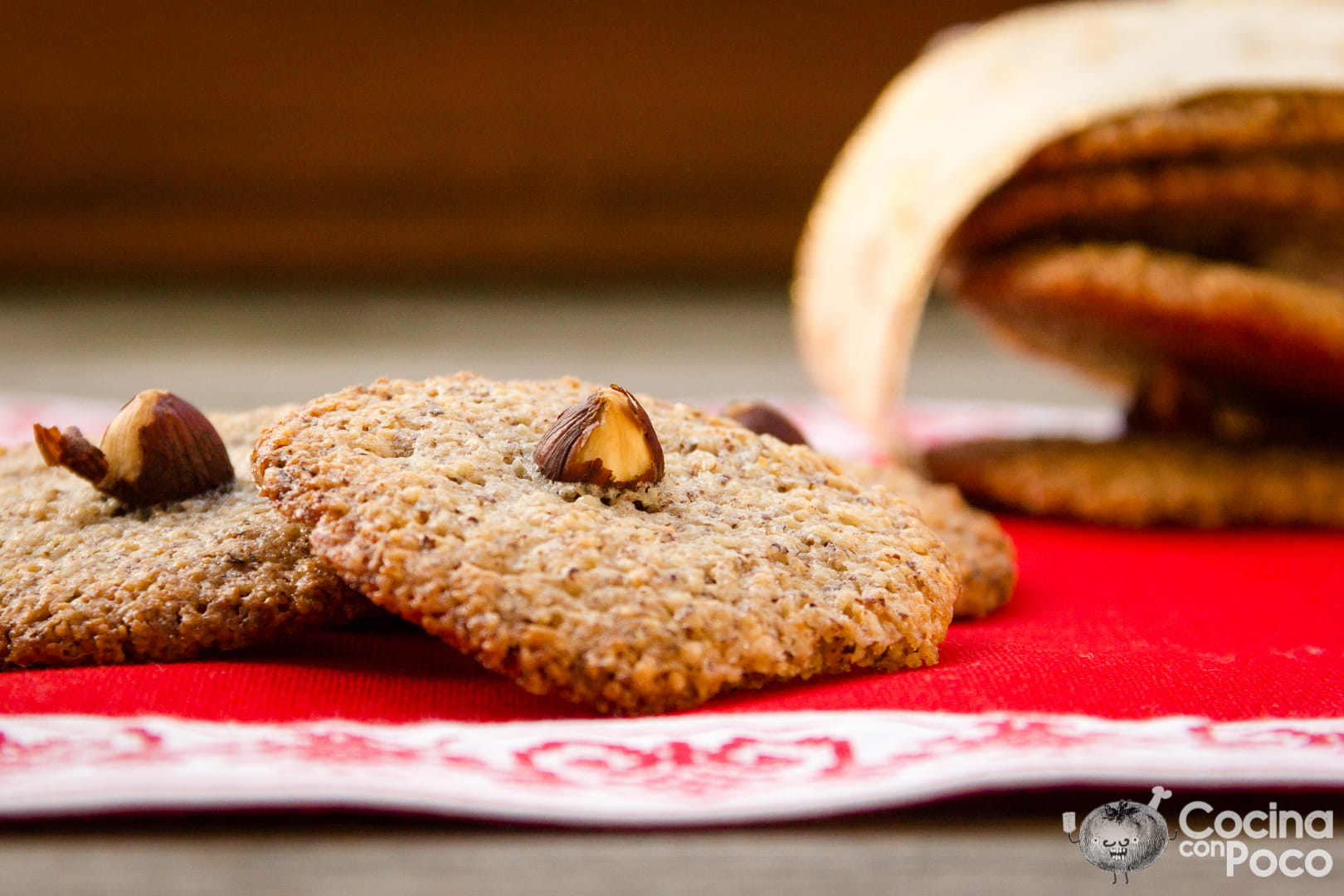 galletas avellana caseras