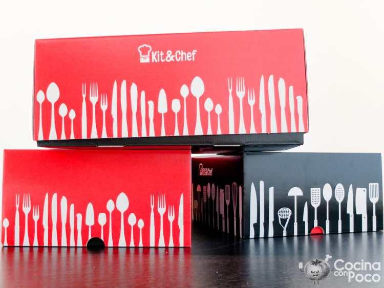 Kit & Chef caja cocina
