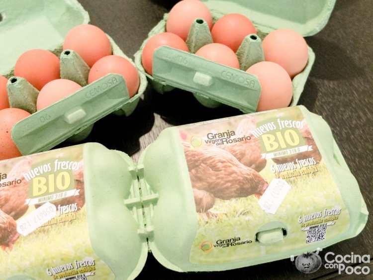 Huevos granja Virgen del Rosario