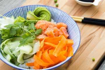 poke hawaiano sushi bowl