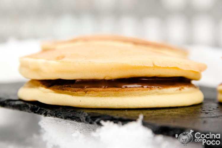 Dorayaki - Receta de los pastelitos de Doraemon