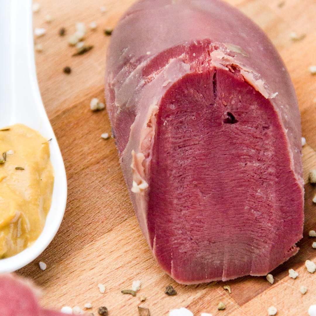 lengua de vaca cocida - fiambre - receta paso a paso