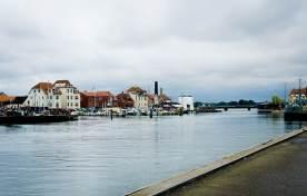 Kerteminde, un antiguo pueblo pesquero en Dinamarca.