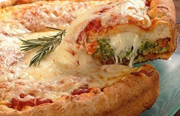 pizza stuffed crust casera