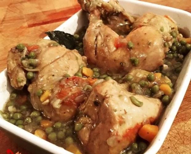 estofado de pollo con papas y arvejas pollo con arvejas y zanahoria
