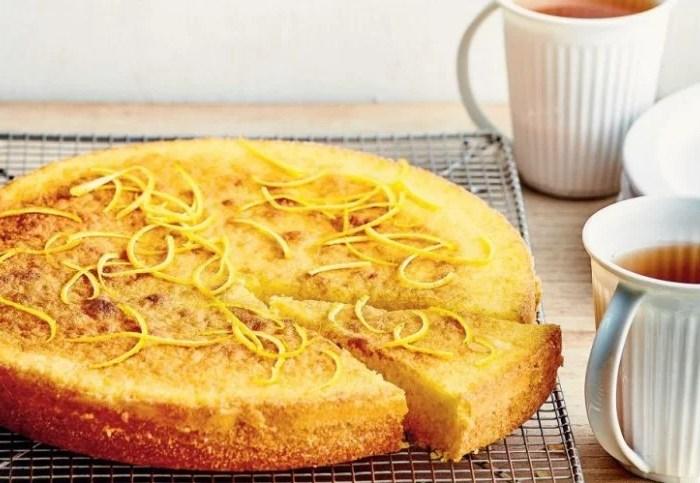 tarta cake de naranja