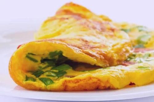 omelette de hierbas