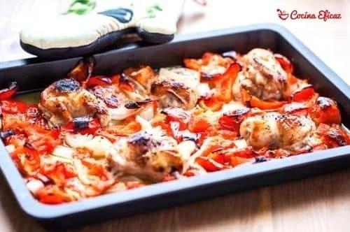 Receta para hacer pimientos rojos asados al horno