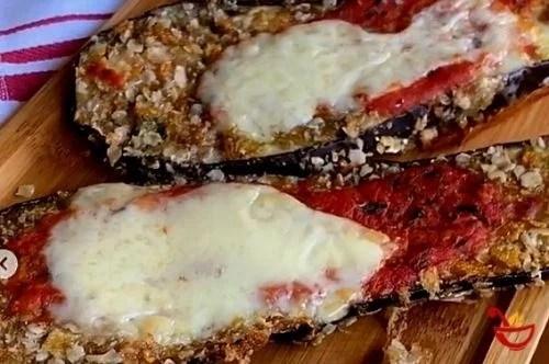 milanesas vegetarianas de berenjena