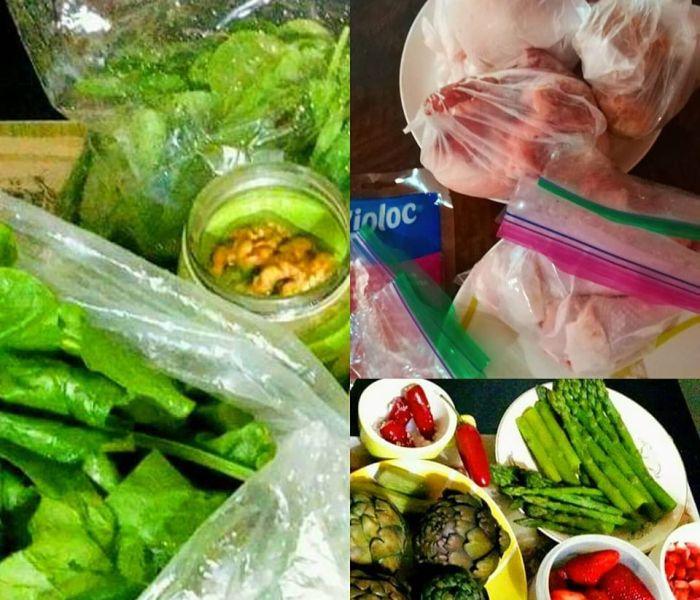 Compra consciente, conservación de alimentos y stockearse.