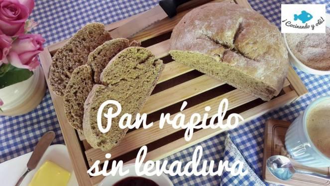 Pan rápido sin levadura