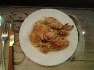 muslos de pollo al horno con especias