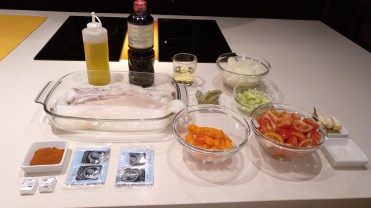 calamares estofados en su tinta - ingredientes