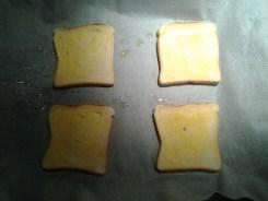 sandwich al horno con queso - 3