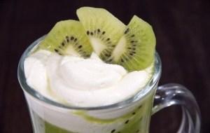 Sorbete de Kiwi, Melocotones y Plátano. Un postre sano y natural