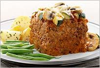 Pastel de carne para vegetarianos
