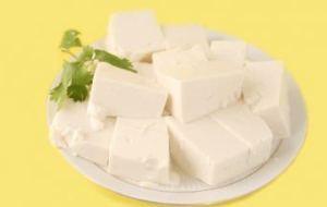 Ensalada de tofu a la mostaza. Muy freca
