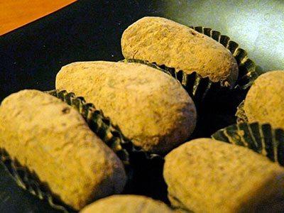 Mazapán de coco y amaranto