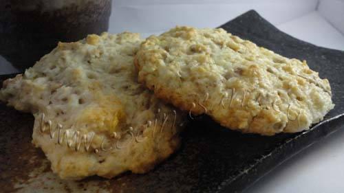 Maxi-galletas con avena y coco: listas!
