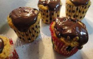Cuasi Cupcakes de Zanahorias, Nueces y Chocolate