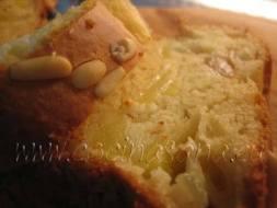 Delicioso Plum cake de Yogur, Kefír y Manzanas