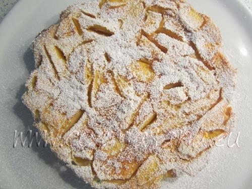 Espolvorea con azúcar glas antes de servir para decorar y darle más sabor a la preparación