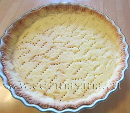 Base para tarta. Pasta frolla italiana