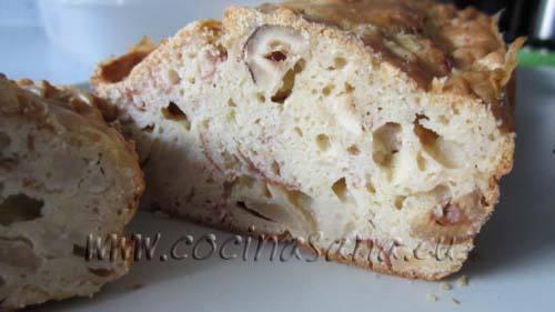 Receta de plum cake salado