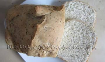 Pan con semillas de amapola