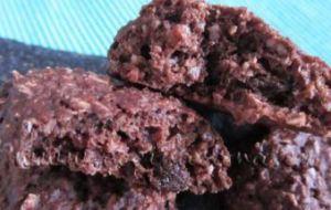 Lo prometido: Galletas de Avena al Cacao con Gotas de chocolate