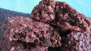 Cómo hacer Galletas de Avena al Cacao, con Gotas de chocolate