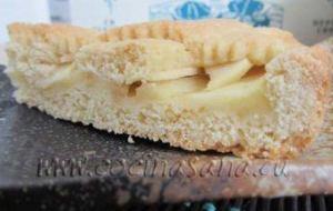 Receta de Crostata italiana rellena de manzana