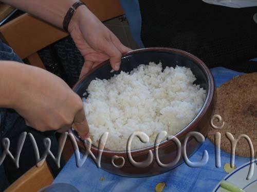 Cómo se cuece el arroz para Sushi