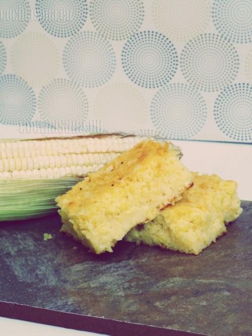 ¡Ya tienes listo un delicioso pan de maíz!