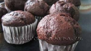 Cómo hacer Magdalenas o Muffins de Chocolate: Receta