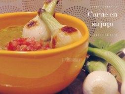 Carne en su jugo al estilo de Jalisco: Receta original