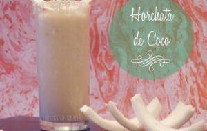 Cómo preparar Horchata de Coco. Una bebida refrescante