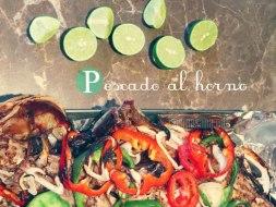 Pescado al horno estilo mexicano: Receta con vídeo