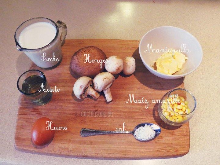 Algunos de los ingredientes que necesitas
