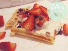 Waffles con Arándanos y Nueces
