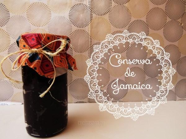 Conserva de Jamaica o Hibiscus